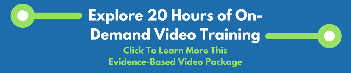 evidence based online video training